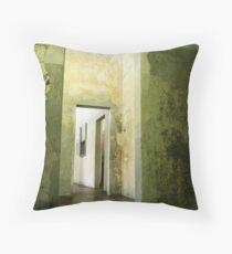 Three - Dachau Throw Pillow