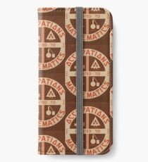 Occupations Mathematics iPhone Wallet/Case/Skin
