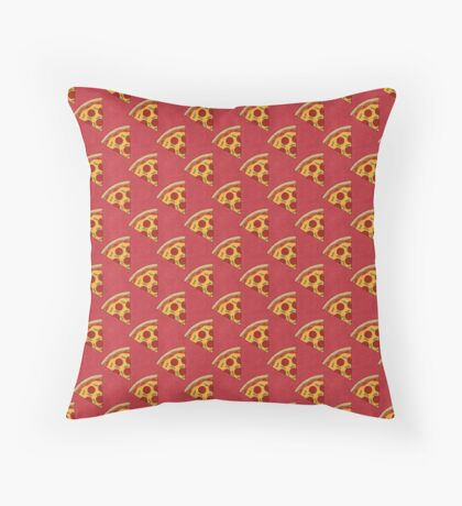 FAST FOOD / Pizza - pattern Throw Pillow