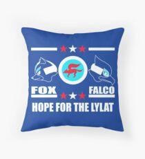 StarFox Zero: Hope for the Lylat Throw Pillow