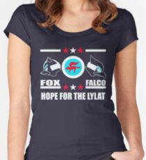 StarFox Zero: Hope for the Lylat Women's Fitted Scoop T-Shirt