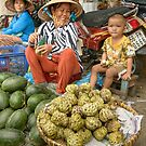Fruit Stall by Werner Padarin