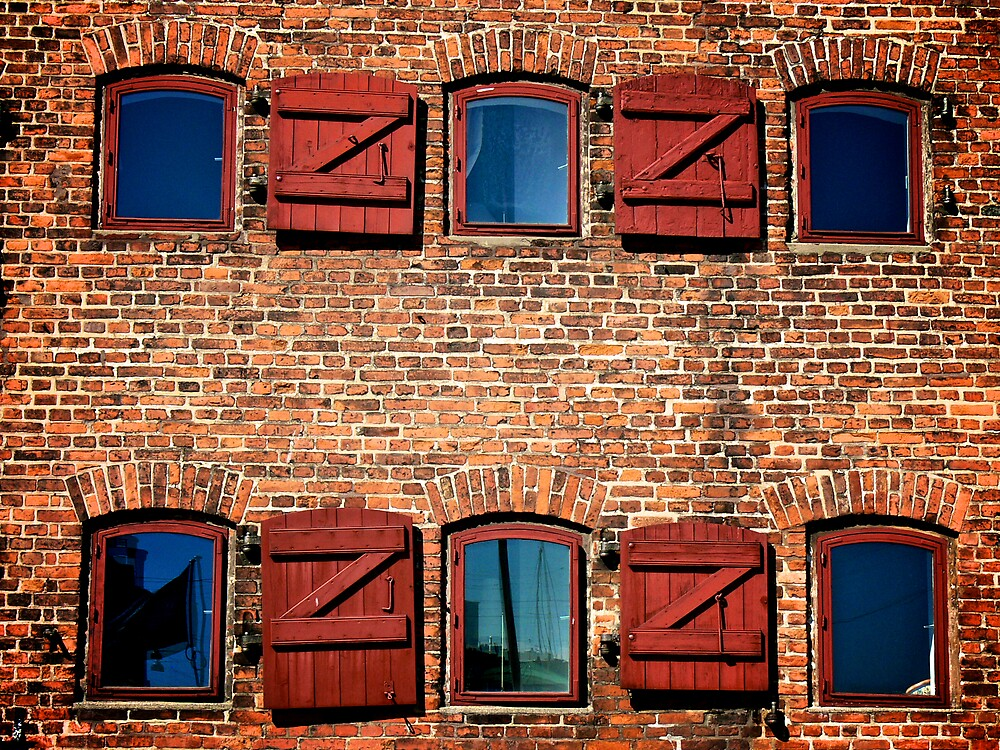 colorful windows by evStyle