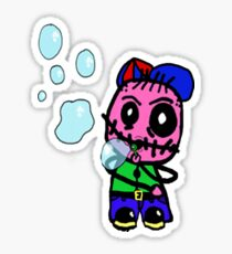 Mr Mossop Bubbles Sticker