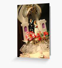 wedding cake ornament Greeting Card