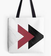 Forward Marble Jester red Arrows Collage  Tote Bag
