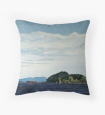 Red Rock Marina - view South West Throw Pillow