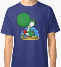 Wooly Egg Chucking Dinosaur Classic T-Shirt