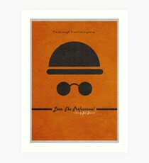 Leon The Professional Art Print