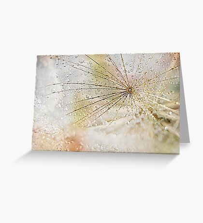Diamonds and Pearls Greeting Card