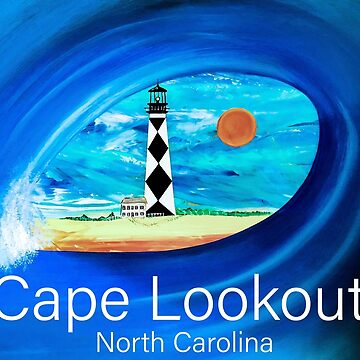 Cape Lookout Lighthouse North Carolina  by barryknauff