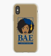 BAE- Black and Educated Master's Degree iPhone Case
