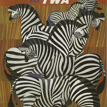 Vintage Travel Poster - Africa by marlenewatson