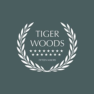 Tiger Woods - Fifteen Majors by MoviePosterBoy