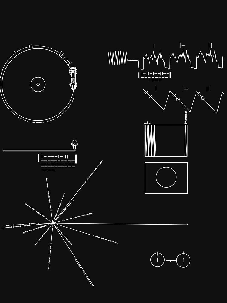 El disco de oro de la Voyager de leakeg