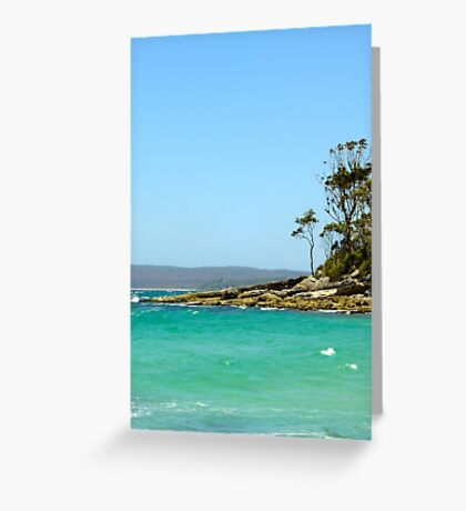 North East Wind Greeting Card