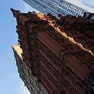 Manhattan - an Angled View of the Potter Building at Sunrise by Georgia Mizuleva