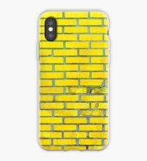 Gelbe Ziegelsteine iPhone-Hülle & Cover