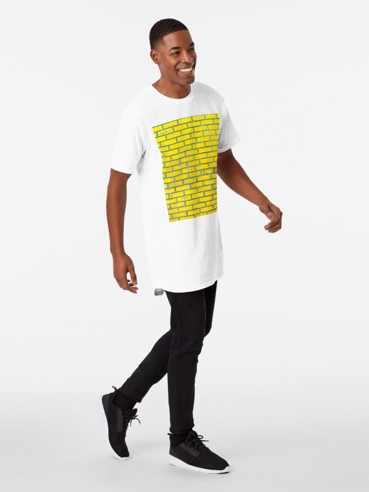 Alternate view of Yellow bricks Long T-Shirt