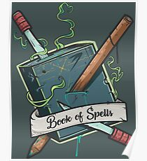 Book of Spells Poster