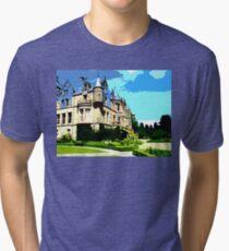 SUMMER AT BELFAST CASTLE Tri-blend T-Shirt