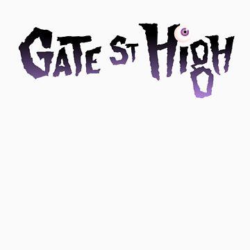 GATE STREET HIGH - Logo by spottyjunglecat