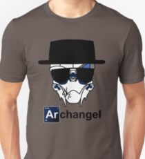 I am the Archangel (with black text) Unisex T-Shirt