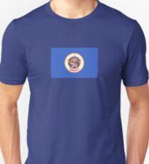 Minnesota USA State Flag Minneapolis Duvet T-Shirt Sticker T-Shirt