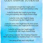 Gottes Antwort auf das Gebet von hummingbirds