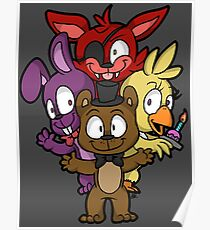 Five Nights at Freddy's Chibi Poster