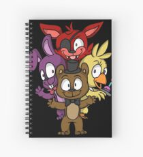 Five Nights at Freddy's Chibi Spiral Notebook