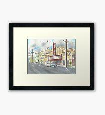 Balboa Theater  Framed Print