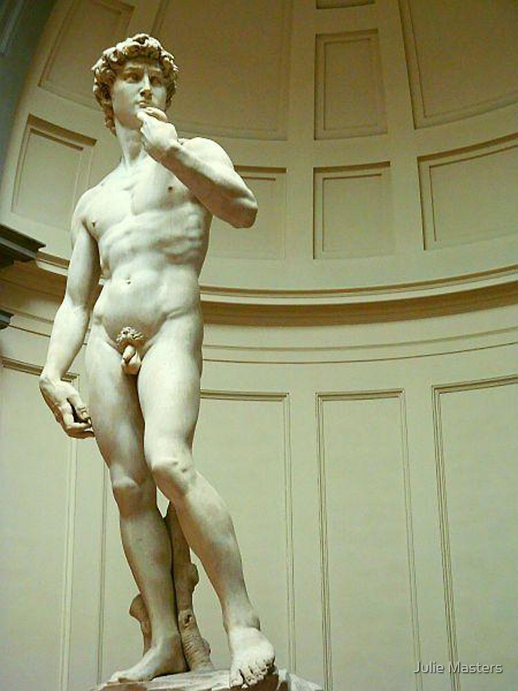 THE David by Julie Moore