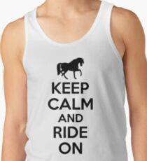 Keep calm and ride on Tank Top
