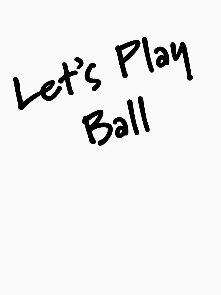 Lass uns Ballspielen von CreativeTs