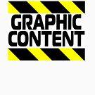 Grafisches Inhalts-T-Shirt von CreativeTs
