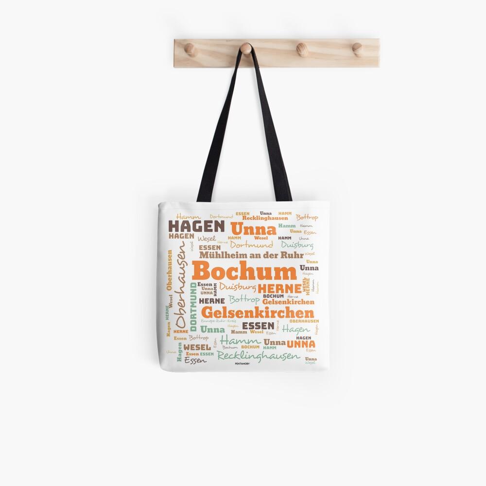 RUHRPOTT WORTWOLKE (colored) Tote Bag