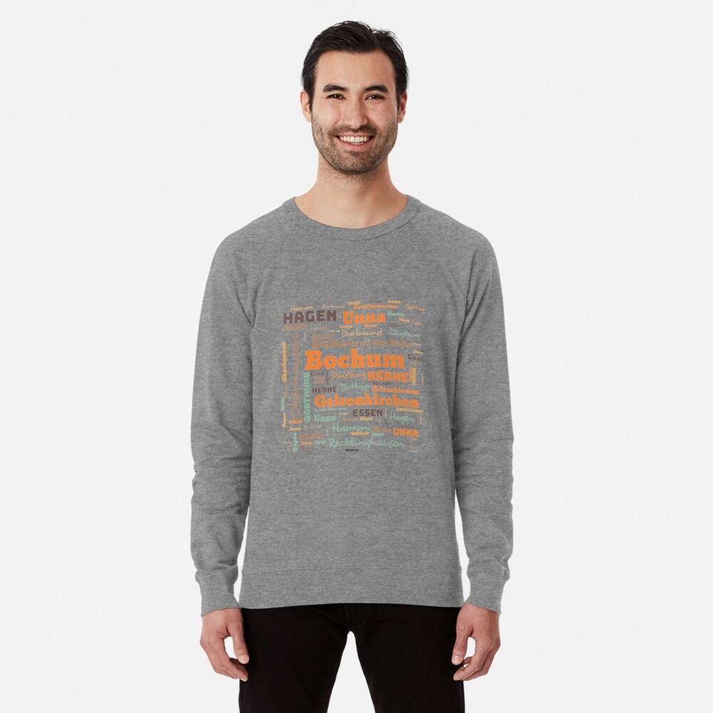 RUHRPOTT WORTWOLKE (colored) Lightweight Sweatshirt
