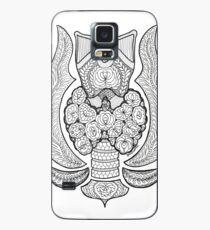 Thyroid gland anatomy with love Case/Skin for Samsung Galaxy