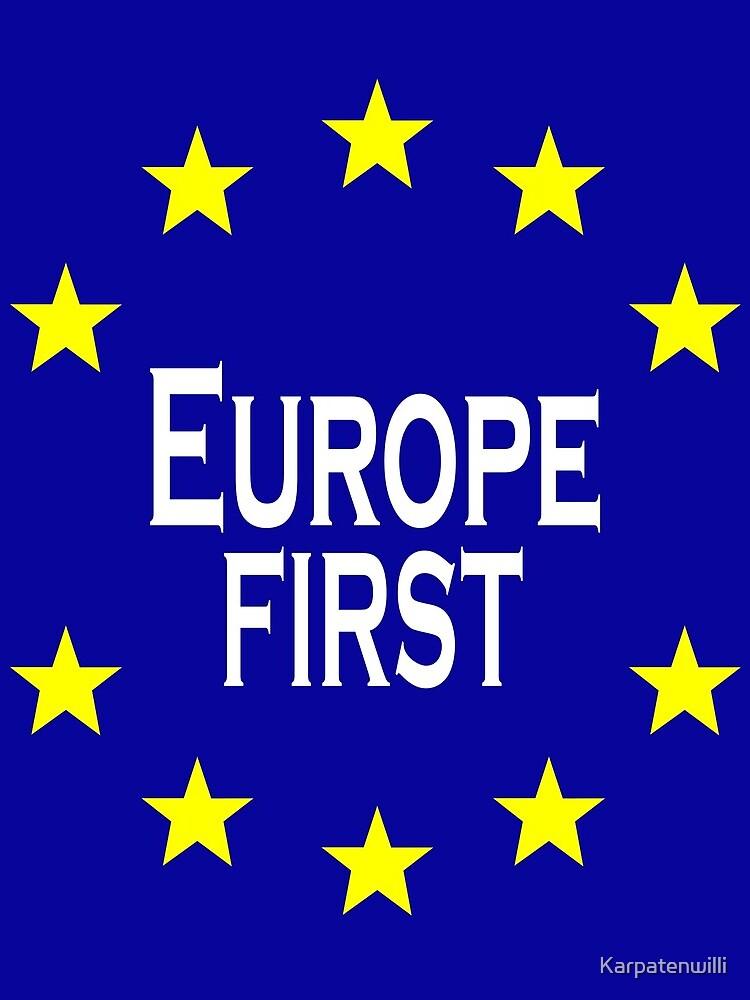 Europe by Karpatenwilli