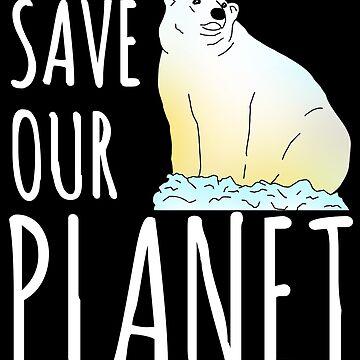 salvar nuestro planeta - oso polar de FandomizedRose