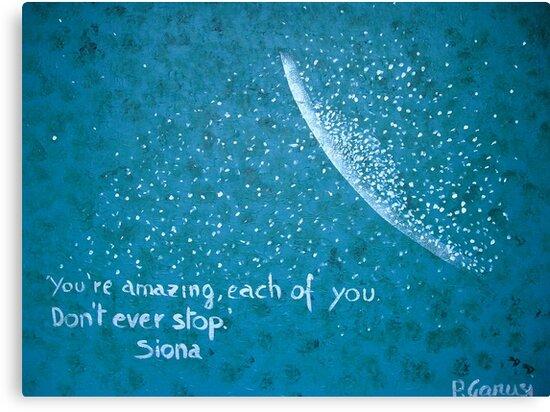 You Are Amazing by Piercarla Garusi