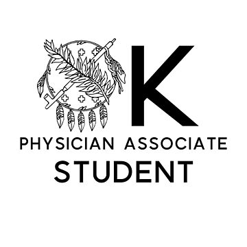 Escudo de estudiante asociado de médico de Oklahoma de annmariestowe