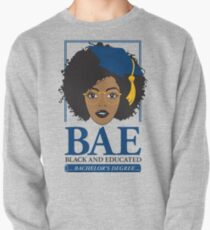 BAE- Black and Educated Bachelor's Degree Pullover Sweatshirt