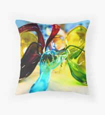 Abstract model Throw Pillow