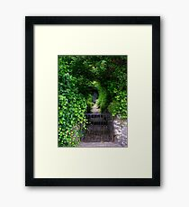 The Shed At The End Framed Print