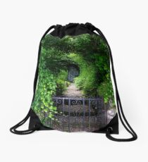 The Shed At The End Drawstring Bag