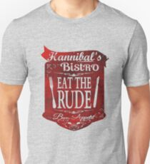cannibal's Bistro - Eat the Rude (2) Slim Fit T-Shirt