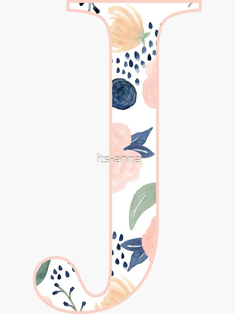 Floral j de its-anna