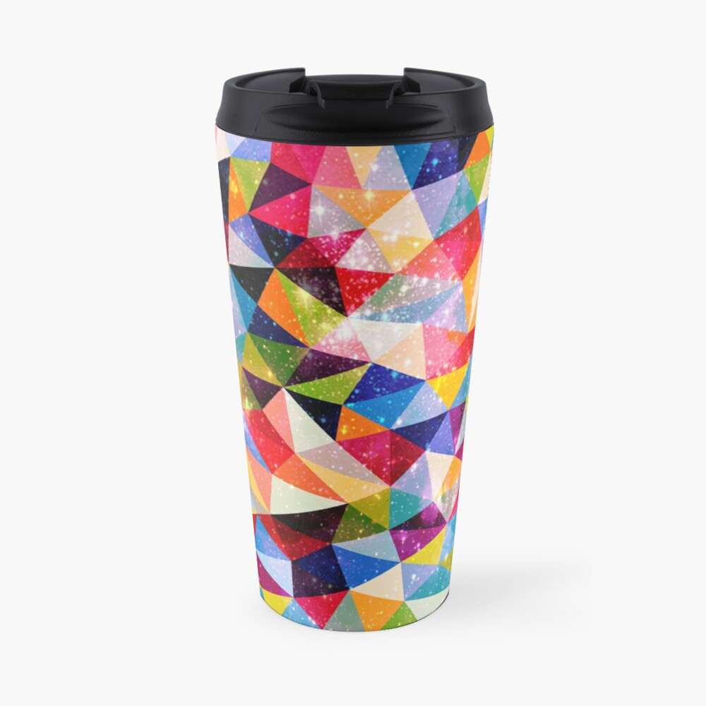 Space Shapes Travel Mug
